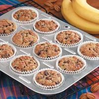 Several years ago I experimented with a banana muffin recipe by adding bran cereal. I loved the results and have been making this flavorful version ever since.