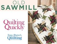 How to Make the Old Sawmill Quilt