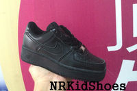 All Black Nike Air Force 1 Shoes Size EUR 28-35