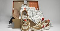 NIKECraft collection by Tom Sachs branding