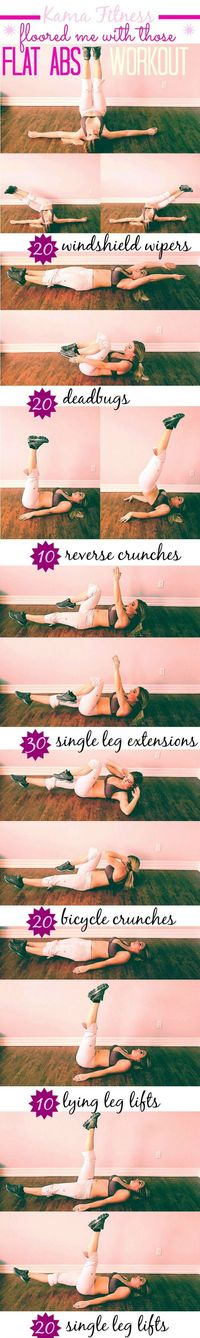 Get fabulously, flat toned abs by Spring & quickly melt away lingering belly fat with this Must-Do Abs Workout.postnow, check later.