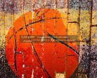 This modern basketball art print can be found @etsy on takumipark in different sizes. It is a photo print. #urbanart #streetart #basketballart #basketball