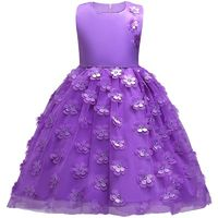 Girls Floral Special Occasion Party Dress