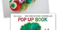 Hollywood Cerise: Once upon a time there was a very hungry caterpillar. Free crochet pattern