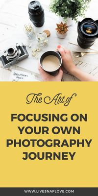 When I first started learning photography, and for a long while beyond that, I would spend a lot of my time looking at what OTHER photographers were doing. I wo