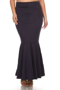 Full length skirt with an a-line silhouette $60.00