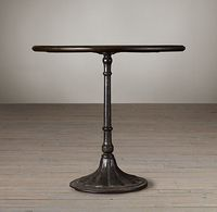 "30"" table for guest bedroom - Restoration Hardware - 20th C. Chrysanthemum Brasserie Table"