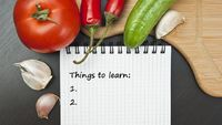 So you've decided it's time to learn your way around the kitchen, but you don't really know where to start. From knife basics to budget stretching to proper foo