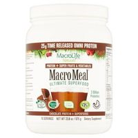 Macrolife Naturals Macro Meal Chocolate Protein + Superfoods 23.8 oz
