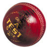 NEWBERY Test Cricket Ball (Red) Top quality Grade A club 4-piece ball.5 layers of cork and finest woollen yarn. Seasoned cork and rubber core http://www.comparestoreprices.co.uk/cricket-equipment/newbery-test-cricket-ball-red-.asp