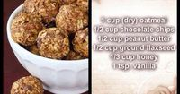 These things taste AMAZING!!!! They give you tons of energy plus they're easy to make and you don't have to bake them. Enjoy and let me know what you think!