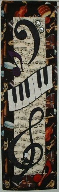 Music Music - Quilted Wall Hanging Pattern