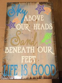 Sky above our heads $30.00