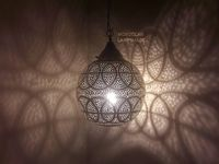 Moroccan pendent light, Moroccan lampshade, Moroccan copper brass lamp, Brass ball, Pendant Lighting $130.00