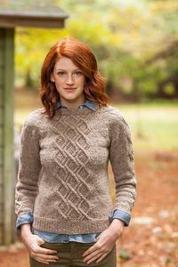 BrooklynTweed- super sophisticated. In a mossy forest green.