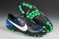 Nike Mercurial Veloce CR AG Galaxy Soccer Cleats Ossidiana Argento