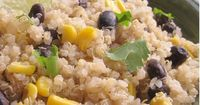 """Quinoa and Black Beans """"This is by far the far the best quinoa recipe our family has eaten."""""""