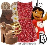 Disney Bound If I can find all the stuff for this outfit, I would most certainly wear this!!