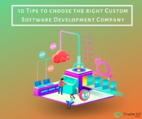 In order to help you make the right decision to check out 10 important Tips to choose the right Custom Software Development Company. Read Blog- http://www.chapter247.com/blog/10-tips-to-choose-custom-software-development-company/
