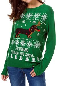 Pavacat Christmas Cute Dog Pullover $27.99