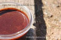 dairy free low carb chocolate syrup
