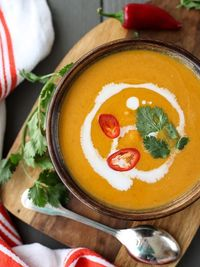 5 Ingredient Thai Pumpkin Soup
