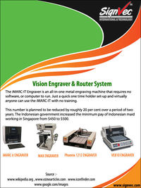 Vision Engraver And Router System