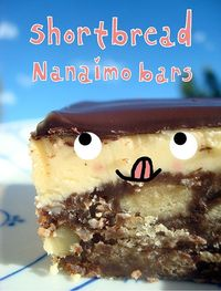 Seeking Sweetness in Everyday Life - CakeSpy - Short and Sweet: Shortbread Nanaimo Bars