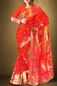 online shopping for handloom paithani silk sarees are available at www.unnatisilks.com